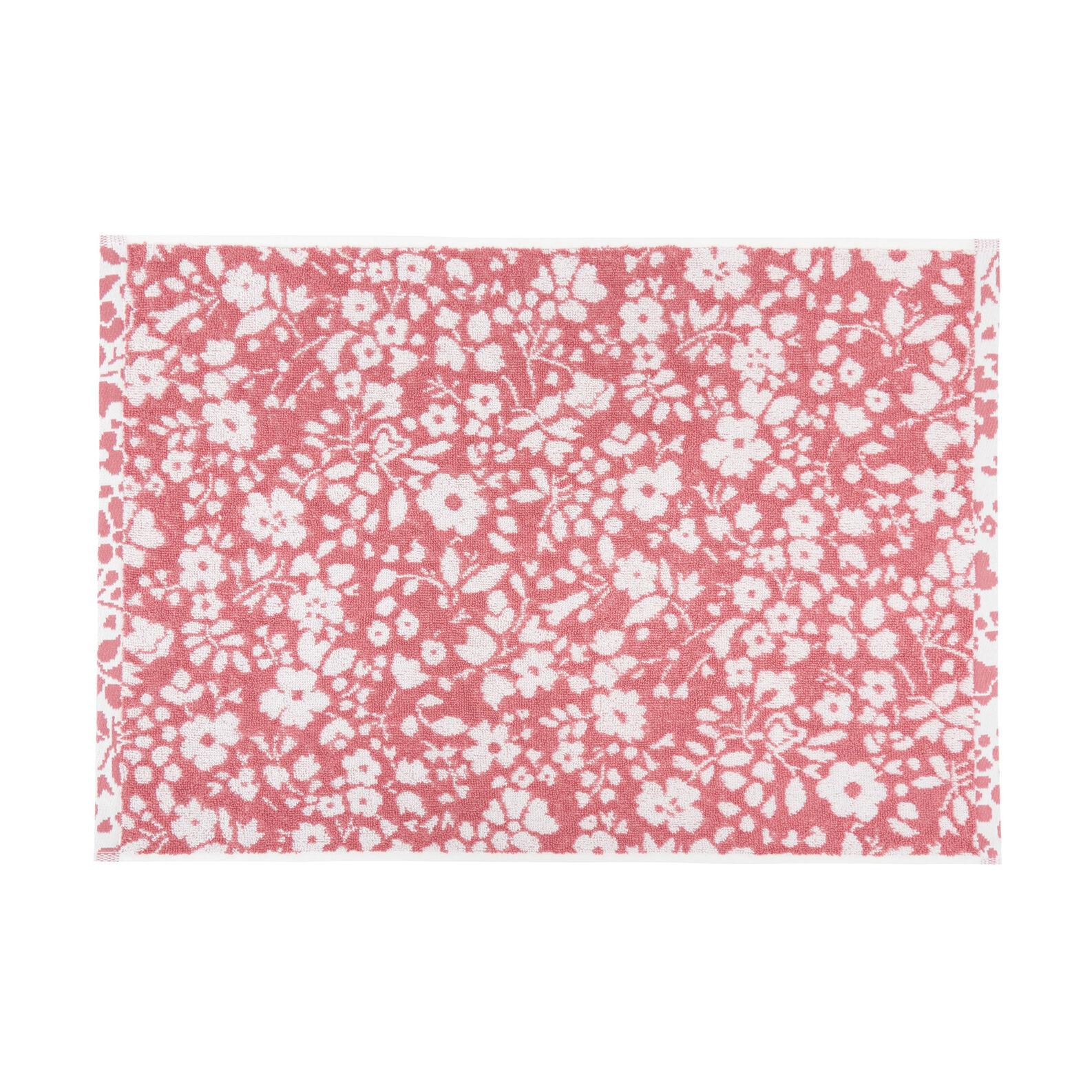Asciugamano puro cotone fantasia floreale