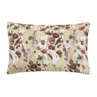 Federa cotone percalle fantasia fiori di cotone
