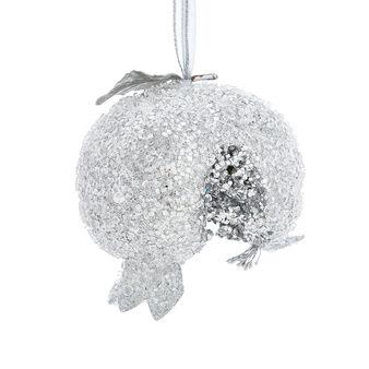 Hand-decorated jewelled pomegranate