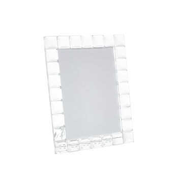 Crystal-effect photo frame