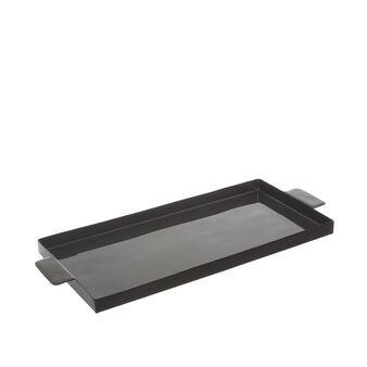 Rectangular iron tray
