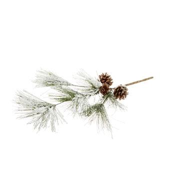 Ramo di pino decorativo con pigne