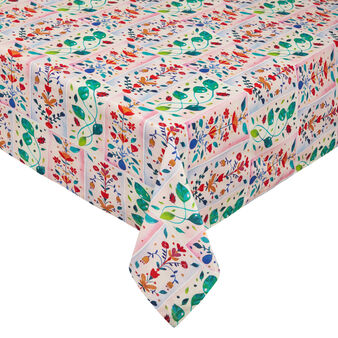 100% cotton tablecloth with ladybird print