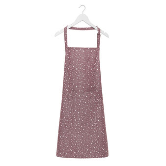 Kitchen apron in 100% cotton with stars print