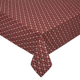 100% cotton tablecloth with micro print