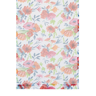 Small curtain with flower print