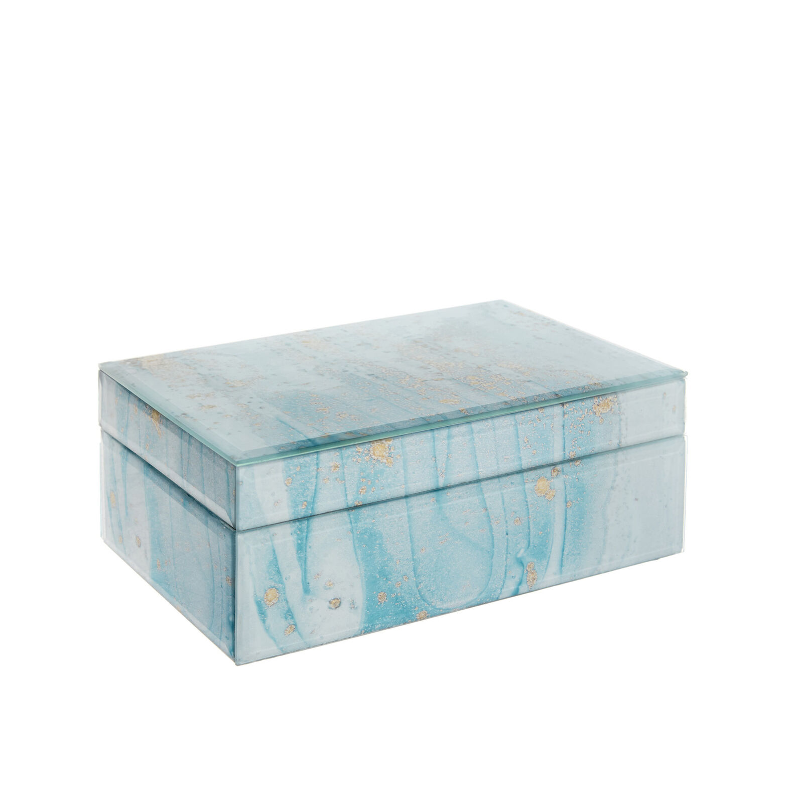 Marbled-effect box