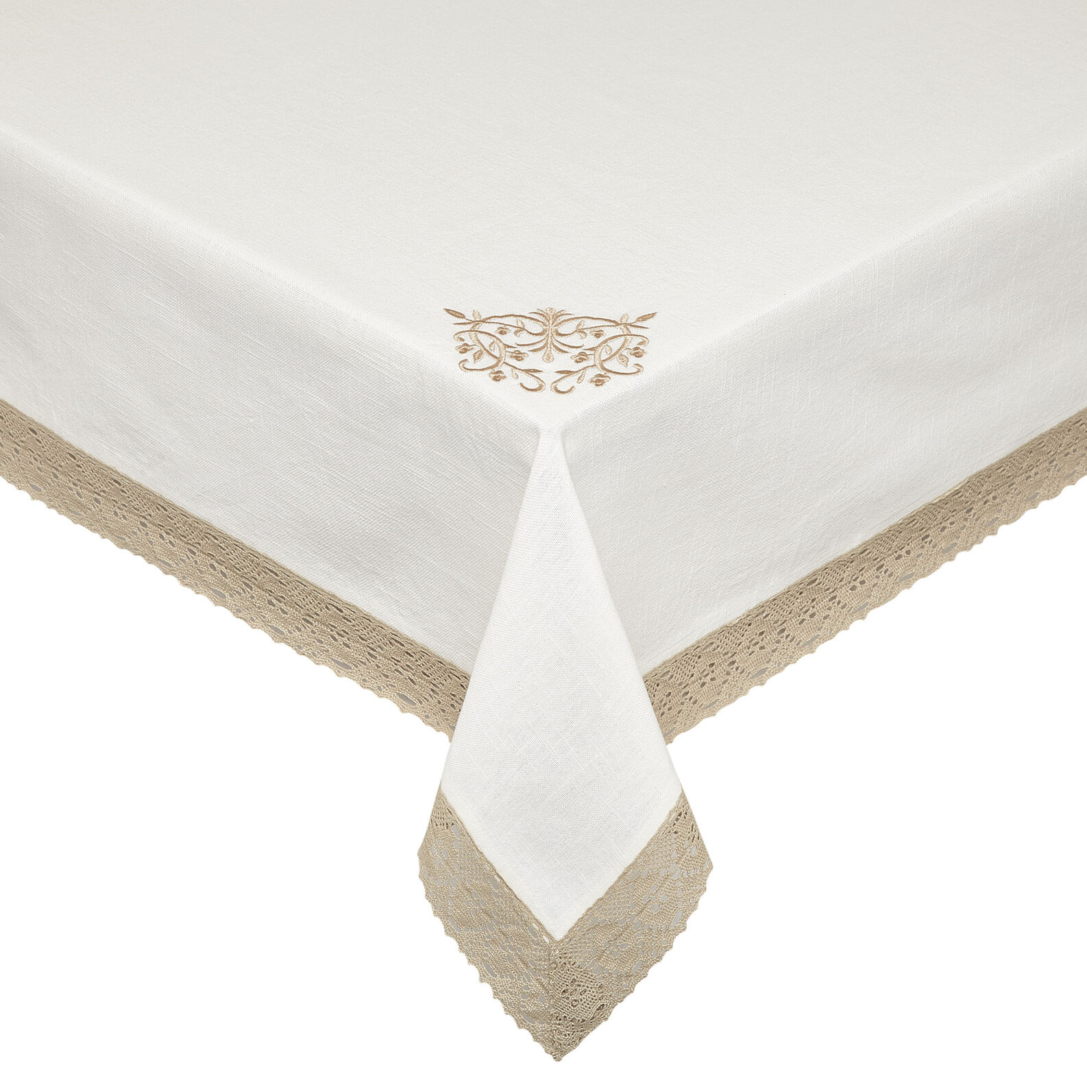 Burano Lace embroidered table cloth