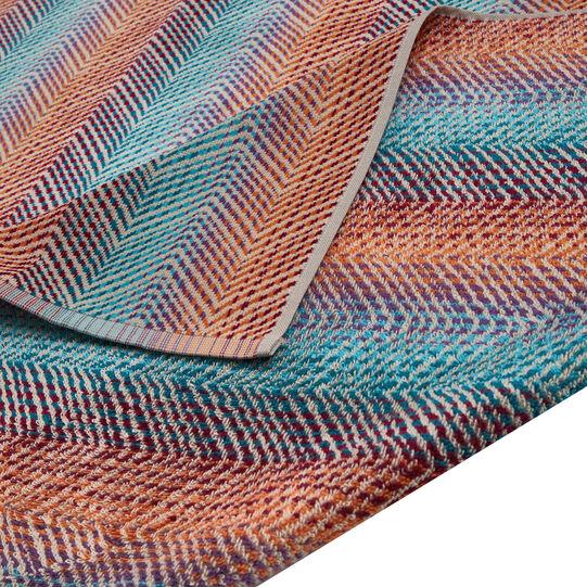 Telo mare cotone velour motivo zigzag