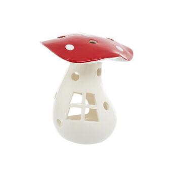 Portacandele a fungo in ceramica