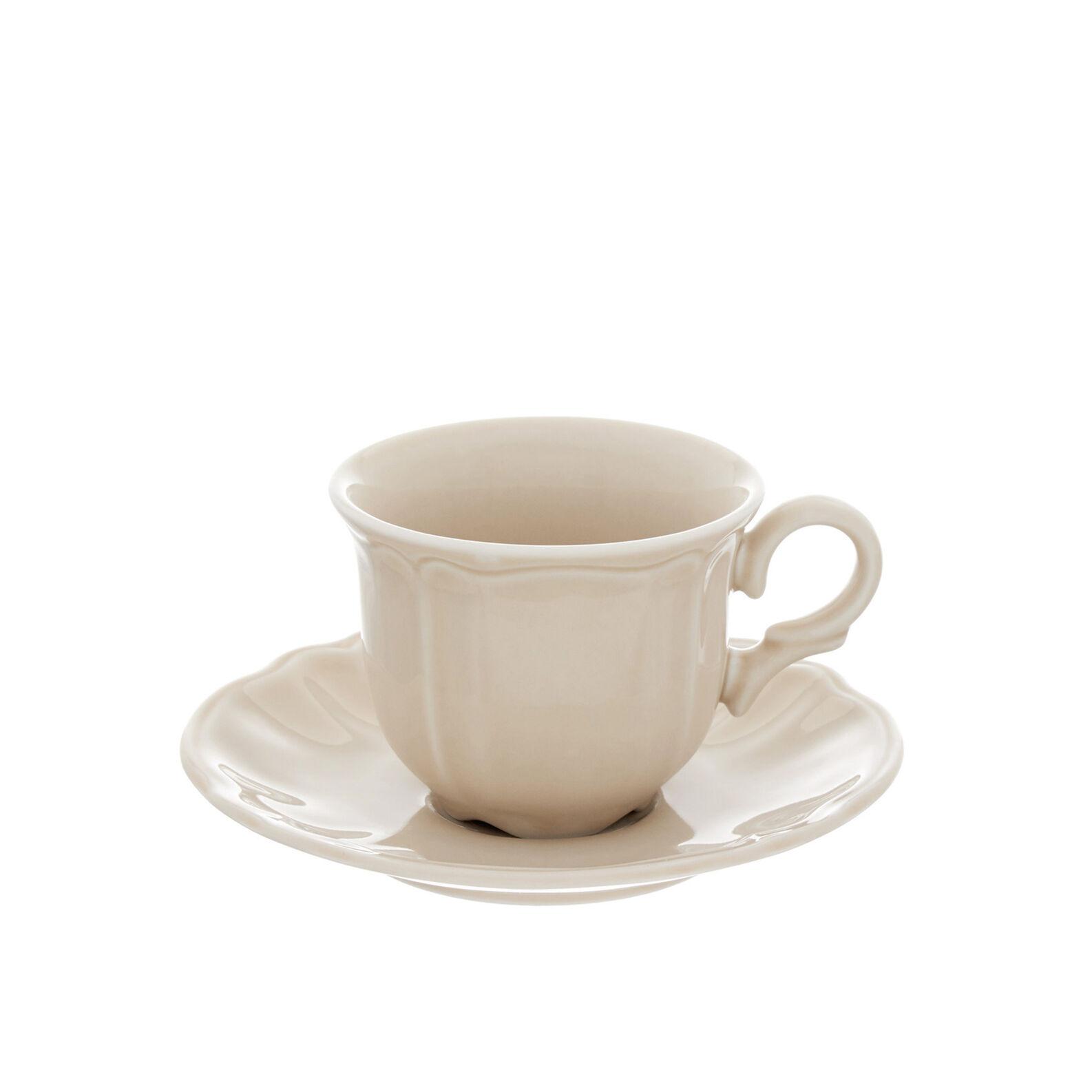 Romantic glazed china breakfast bowl