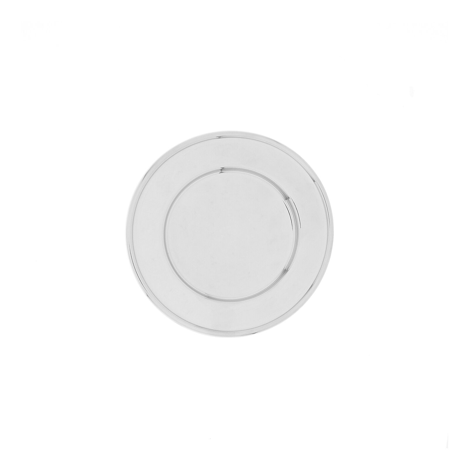 Stainless steel bread saucer