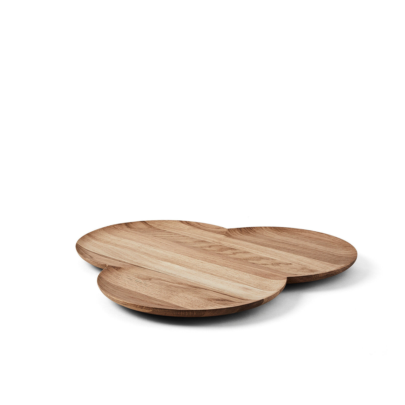 Oak wood tray by Agustina Bottoni