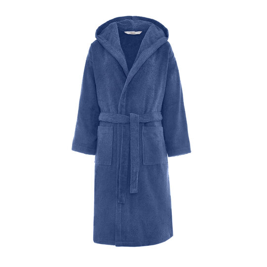 Solid colour 100% Egyptian cotton bathrobe