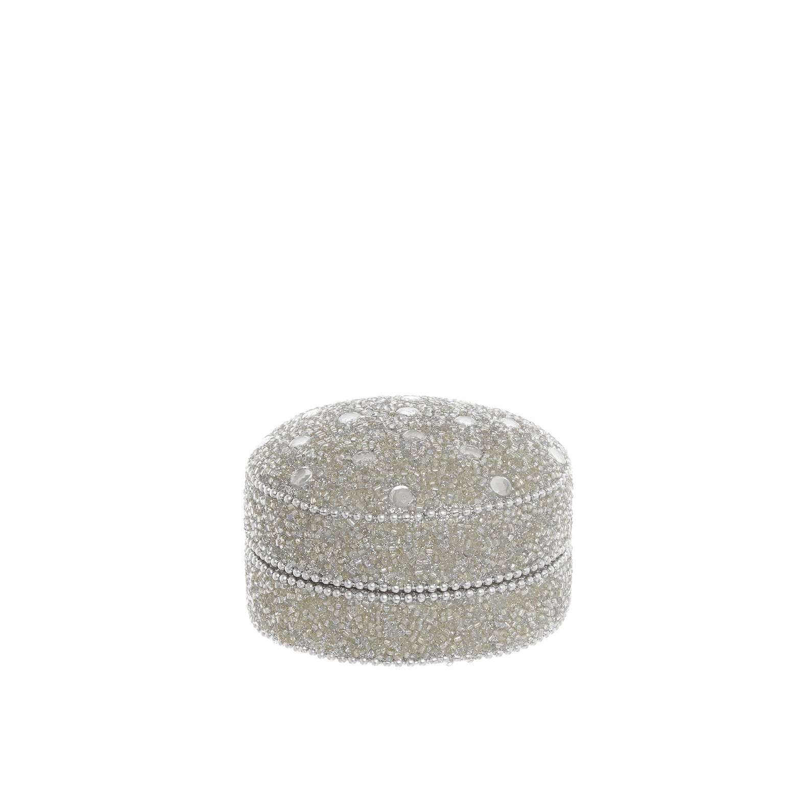 Handmade mini box with beads