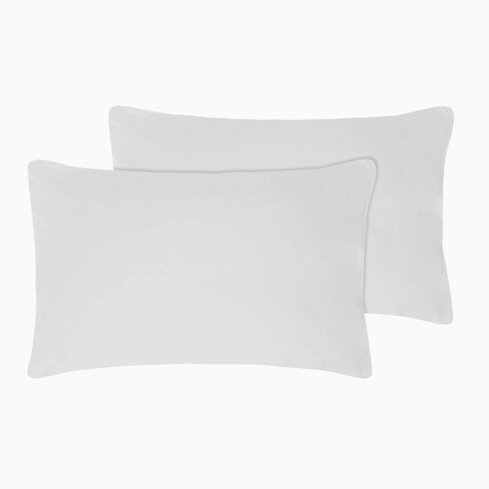 Set of 2 percale pillowcases