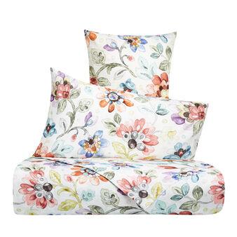 Parure lenzuola cotone percalle fantasia floreale