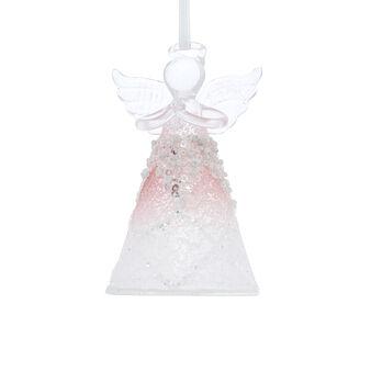 Hand-decorated angel decoration