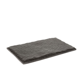Slate serving plate