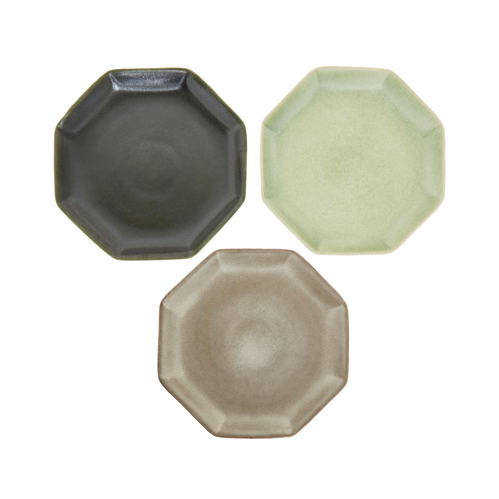 Piatto piano ceramica stile giapponese