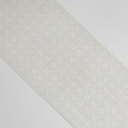 Cotton and lurex blend table runner