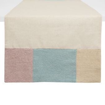 100% cotton patchwork table runner