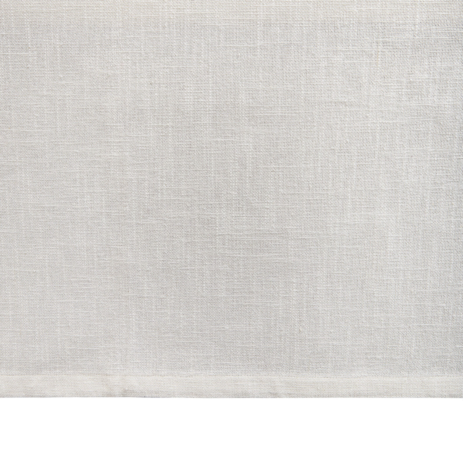 Plain cotton slub table cloth