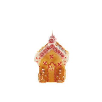 Handmade house candle