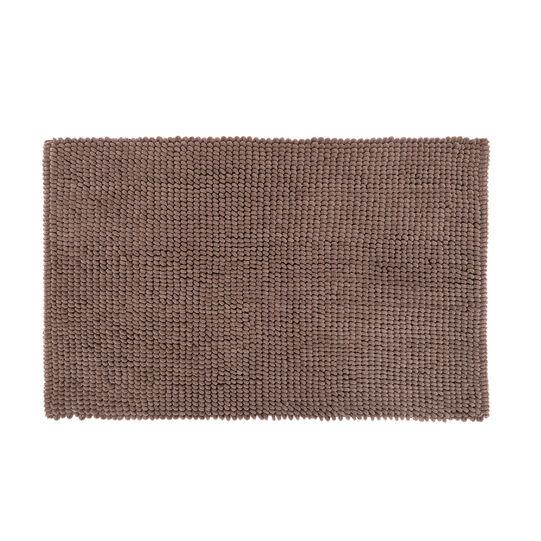 Peanut-effect cotton bath mat