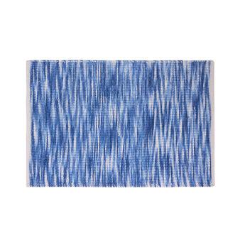Bath mat in watercolour-effect chenille