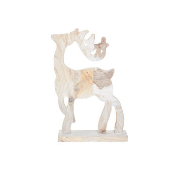 Decorazione renna in legno