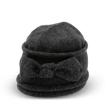 Berretto pura lana con fiocco Koan