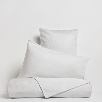 Portofino flat sheet in 100% cotton percale jacquard