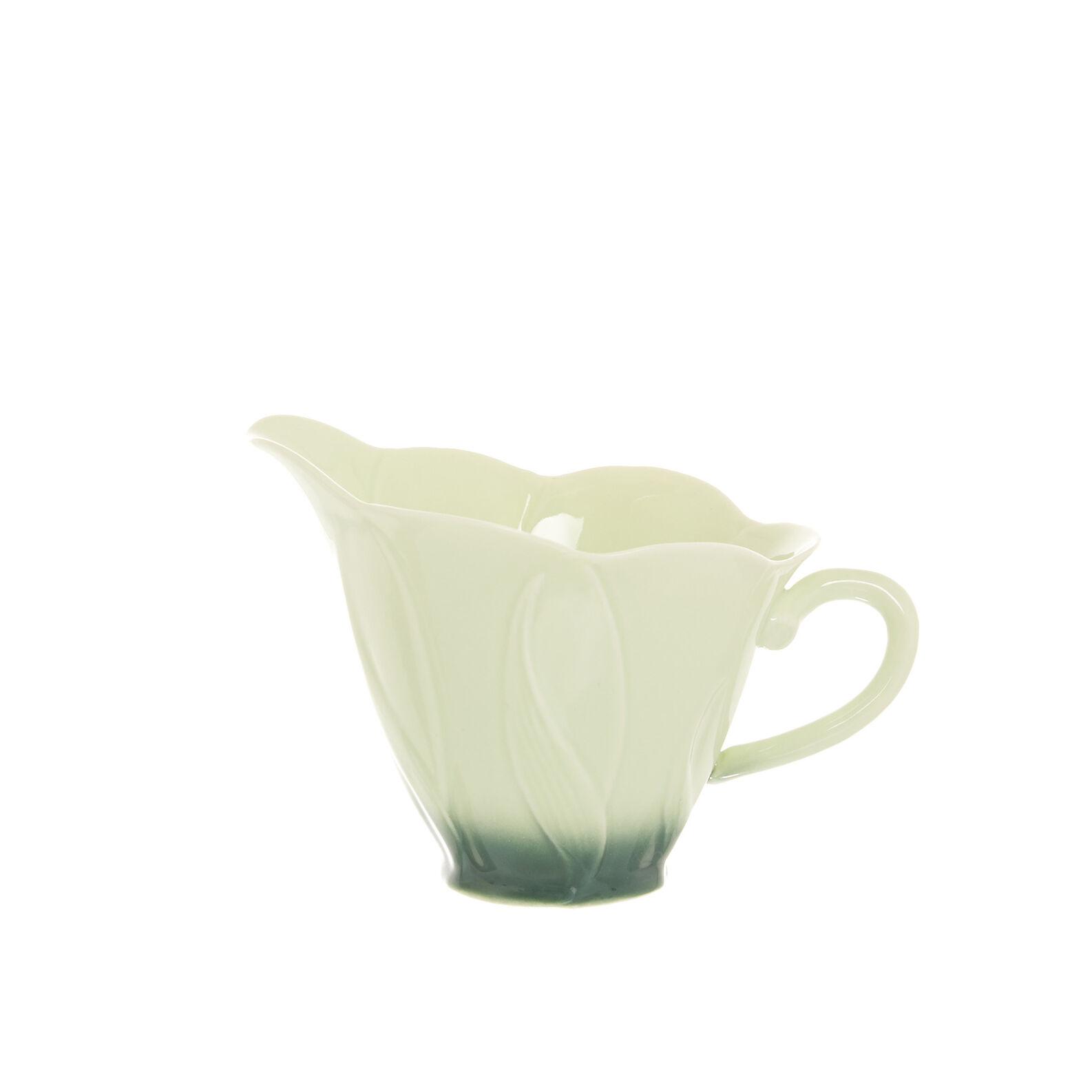 Porcelain flower milk jug
