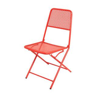 Sedia in acciaio Rojo