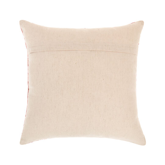 Velvet cushion with lurex