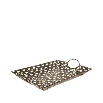 Iron mosaic tray