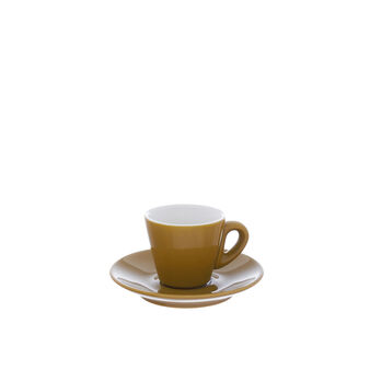 Coloured china coffee cup