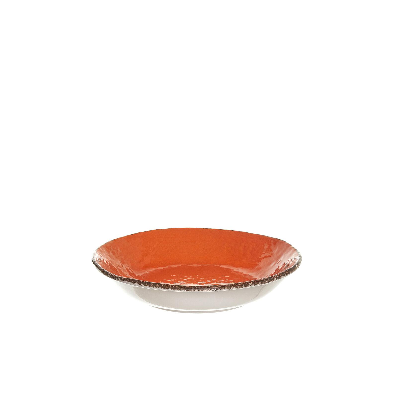 Preta handmade ceramic soup plate