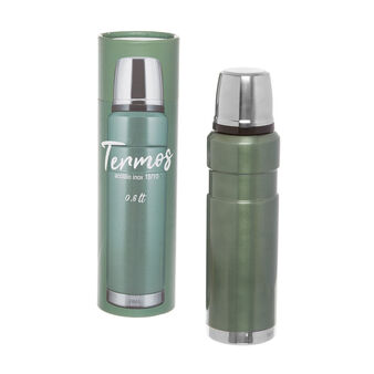 0.8 L stainless steel thermos