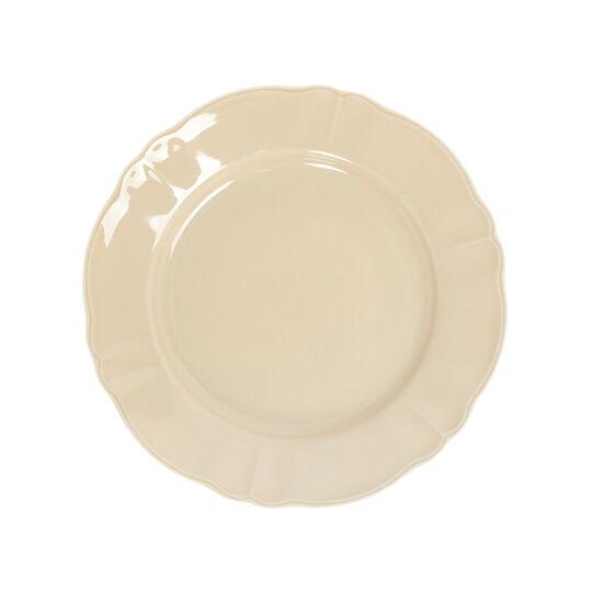 Romantic glazed china dinner plate.