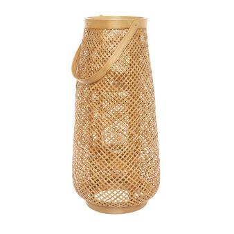 Lanterna in bamboo intrecciato a mano
