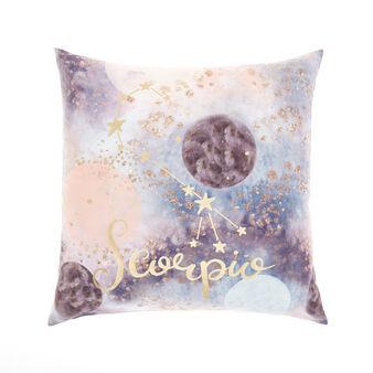 Cushion cover with Scorpio print 45x45cm