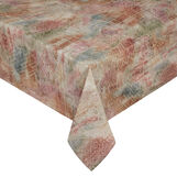 100% cotton tablecloth with abstract print