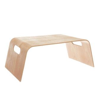 Vassoio legno da letto