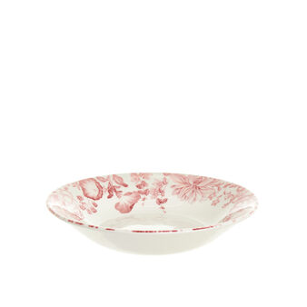Blooms ceramic soup plate