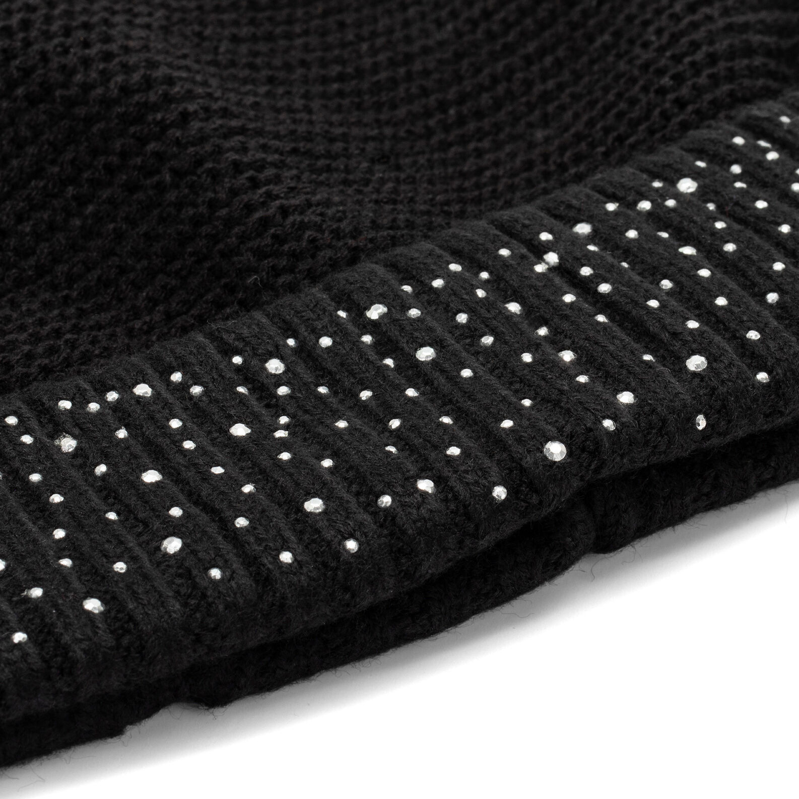Koan hat with rhinestones