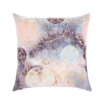 Cushion cover with Sagittarius print 45x45cm