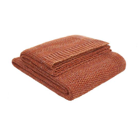 Plaid cotone a maglia