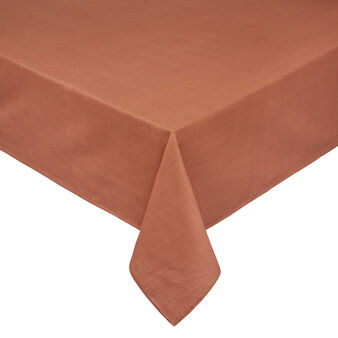 Solid colour 100% slub cotton tablecloth